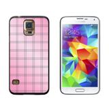 Mad for Plaid Pink Galaxy S5 Case