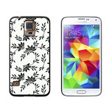 Power of Flowers Black White Galaxy S5 Case