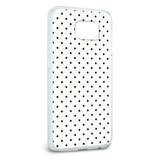 A Little Dotty White Black Galaxy S6 Case