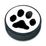 Pet Dog Cat Ice Hockey Puck
