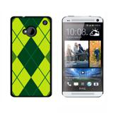 Argyle Hipster Green HTC One Case