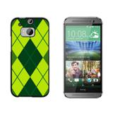 Argyle Hipster Green - Preppy HTC One M8 Case