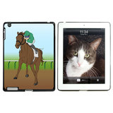 Horse Racing Race Jockey Thoroughbred Kentucky Derby iPad Case - No. 1