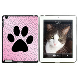 Paw Print of Awesomeness Pink Apple iPad Case