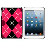 Argyle Hipster Pink - Preppy iPad Mini Case
