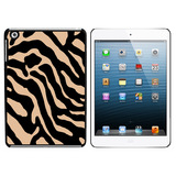 Zebra Print Tan iPad Mini Case