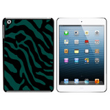 Zebra Print Teal iPad Mini Case