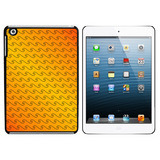 Making Waves Orange iPad Mini Case