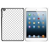 A Little Dotty White Black iPad Mini Case