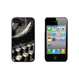 Vintage Classic Antque Old Typewriter iPhone 4/4S Case