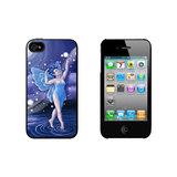 Blue Dancing Fairy - Moonlit Night Faerie Fae iPhone 4/4S Case