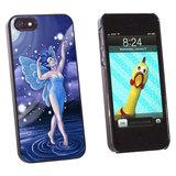 Blue Dancing Fairy - Moonlit Night Faerie Fae  iPhone 5/5S Case