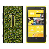 Peacock Print - Snap On Case for Nokia Lumia 920