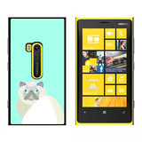 Geometric Himalayan Persian Siamese Cat - Snap On Case for Nokia Lumia 920