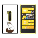 Persian Cat Himalayan Color Points on White - Pet - Snap On Case for Nokia Lumia 920