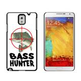 Bass Hunter - Fish Fishing Fisherman Case for Galaxy Note III