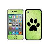 Paw Print of Awesomeness Green iPhone 3G/3GS Skin