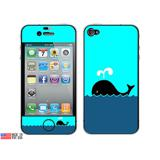 Whale of a Time iPhone 4 Skin
