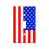 USA American Flag Light Switch Plate Cover