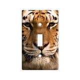 Bengal Tiger Face Light Switch Plate Cover