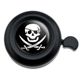 Pirate Skull Crossed Swords Jolly Roger Bicycle Handlebar Bike Bell