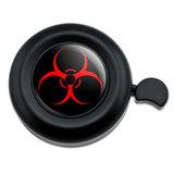 Biohazard Warning Symbol Zombie Radioactive Bicycle Handlebar Bike Bell
