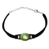 Hops - Bud Novelty Suede Leather Metal Bracelet