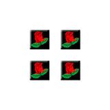 Rose Set of 3D Stickers - No. 1