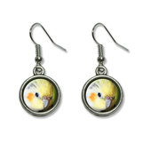 Cockatiel - Bird Pet Dangling Drop Earrings