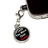 I Love You More Than Bacon Mobile Phone Charm