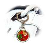 Gummy Gummi Bears Round Dangle Shoe Charm
