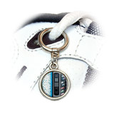 Soda Pop Vending Machine Round Dangle Shoe Charm