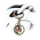 Abyssinian Cat - Pet Shoe Charm