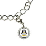 Penguin - Snow Bird Bottlecap Charm