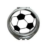Soccer Ball Compact Mirror