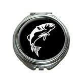 Fish Bass Jumping Compact Mirror