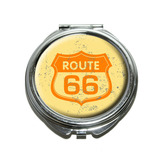 Route 66 Vintage Compact Mirror