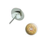 12 Gauge Bullet Shell - Ammo Pierced Stud Earrings