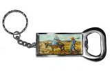 Morning by Vincent Van Gogh Bottle Opener Keychain