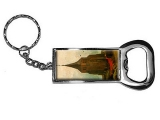 Old Church by Vincent Van Gogh Bottle Opener Keychain