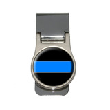 Thin Blue Line Money Clip