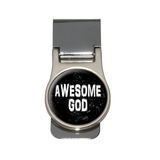 Awesome God - Christian Religious Inspirational Money Clip