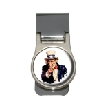 Uncle Sam - USA Money Clip