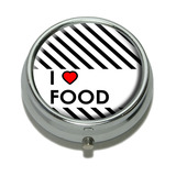 I Love Heart Food Pill Box