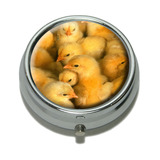Baby Chickens Chicks Pill Box