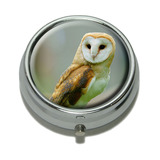 Barn Owl Bird Pill Box - No. 1