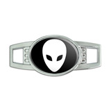 Alien Oval Slide Shoe Charm