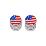 American Flag - Bike Valve Stem Caps