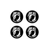 POW MIA - Set of 3D Stickers
