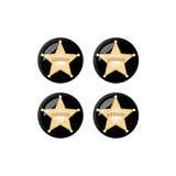 Sheriff Badge - Set of 3D Stickers